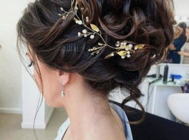 peinados para asistir a una boda