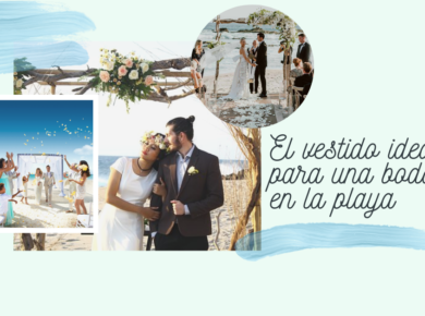 Vestido ideal para bodas en la playa