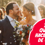 7 cosas que debes hacer antes de casarte
