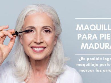 maquillaje para pieles maduras