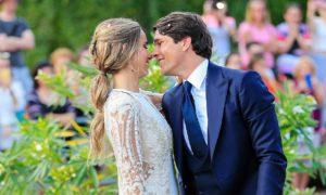 boda de María Pombo