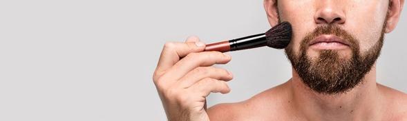 Técnicas de maquillaje para hombres