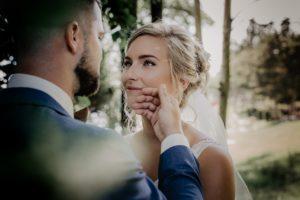 Moños bajos para bodas